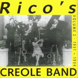 VOLUME 2 1931-1934 Audio CD, RICO'S CREOLE BAND, CD