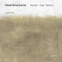 MUSIC BY SAARIAHO A.O. Audio CD, CIKADA STRING QUARTET, CD