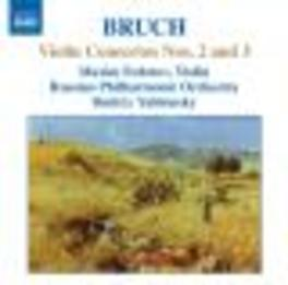 VIOLIN CONCERTOS NO.2&3 FEDOTOV / RUSSIAN PHILHARMONIC ORCH Audio CD, M. BRUCH, CD