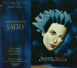 SAFFO TEATRO SAN CARLO ORCHESTRA/FRANCO CAPUANA Audio CD, G. PACINI, CD