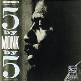 5 BY MONK BY 5 Audio CD, MONK, THELONIOUS -QUINTET, CD