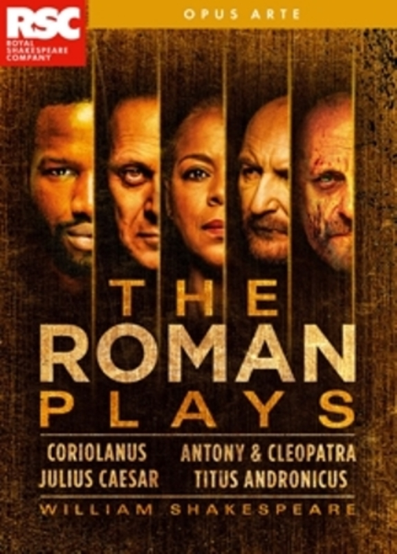 Royal Shakespeare Company - The Roman Plays, (Blu-Ray) Blu-Ray