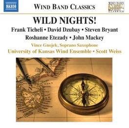 WILD NIGHTS Audio CD, KANSAS UNIVERSITY WIND EN, CD