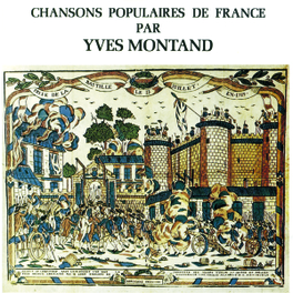 CHANSONS POPULAIRES DE .. 1963 RECORDING Audio CD, YVES MONTAND, CD