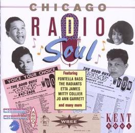 CHICAGO RADIO SOUL W/JO ANN GARRETT, ETTA JAMES, FREDDY ROBINSON, GEMS, JA Audio CD, V/A, CD