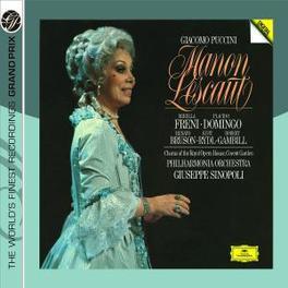 MANON LESCAUT PHILHARMONIA ORCHESTRA/GIUSEPPE SINOPOLI Audio CD, G. PUCCINI, CD