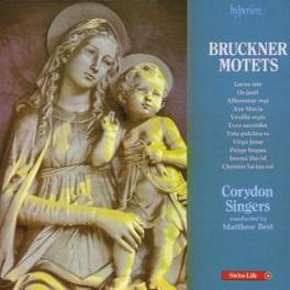 MOTETS W/CROYDON SINGERS Audio CD, A. BRUCKNER, CD