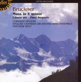 MASS IN E MINOR ENGLISH CHAMBER ORCH.WINDS/BEST Audio CD, A. BRUCKNER, CD