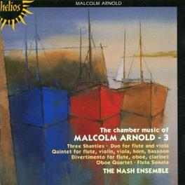 CHAMBER MUSIC VOL.3 W/THE NASH ENSEMBLE Audio CD, M. ARNOLD, CD