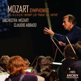 SYMPHONIES NO.29,33,35 ORCHESTRA MOZART/CLAUDIO ABBADO Audio CD, W.A. MOZART, CD