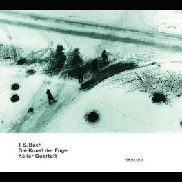 DIE KUNST DER FUGE W/KELLER QUARTETT Audio CD, J.S. BACH, CD