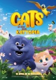Cats op zoek naar Kattopia, (DVD) DVDNL