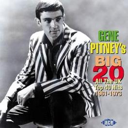 BIG TWENTY-ALL THE UK TOP ..40 HITS, 1961-73 Audio CD, GENE PITNEY, CD