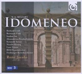 IDOMENEO -CD+DVD- FREIBURGER BAROCKORCHESTER/RENE JACOBS DVD, W.A. MOZART, CD