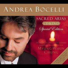 SACRED ARIAS -CD+DVD- W/ 2 BONUS TRACKS: 'I BELIEVE'/'AGNUS DEI' Audio CD, ANDREA BOCELLI, CD