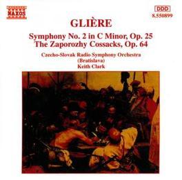SYMPHONY NO.2 CZECHO-SLOVAK RSO/CLARK GLIERE, CD