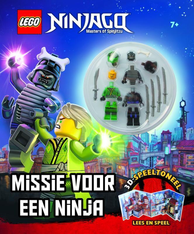 LEGO NINJAGO Missie voor een Ninja. 3D Speeltoneel, Hardcover