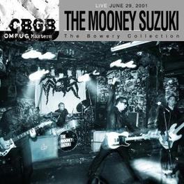 CBGB OMFUG MASTERS LIVE 6-29-01 BOWERY COLLECTION Audio CD, MOONEY SUZUKI, CD