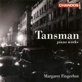 PIANO WORKS MARGARET FINGERHUT Audio CD, TANSMAN, CD