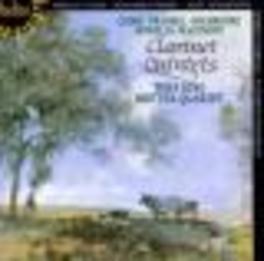 FIVE ENGLISH CLARINET QUI ...QUINTETS/W/THEA KING Audio CD, BRITTEN QUARTET, CD
