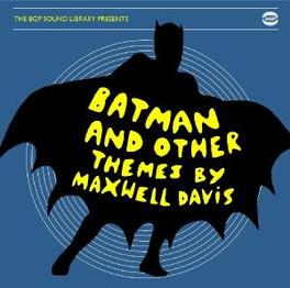 BATMAN AND OTHER THEMES Audio CD, MAXWELL DAVIS, CD