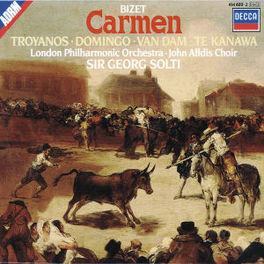 CARMEN KANAWA/DOMINGO/VAN DAM/LPO/SOLTI Audio CD, G. BIZET, CD