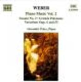 PIANO MUSIC VOL. 2 -ALEXANDER PALEY C.M. VON WEBER, CD