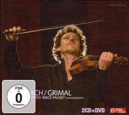 SONATAS & PARTITAS DAVID GRIMAL Audio CD, J.S. BACH, CD