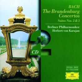 BRANDENBURG CONCERTOS SUI BP/KARAJAN Audio CD, J.S. BACH, CD
