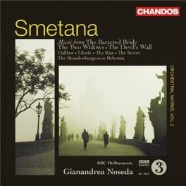 ORCHESTRAL WORKS VOL.2 BBC P.O./NOSEDA Audio CD, B. SMETANA, CD