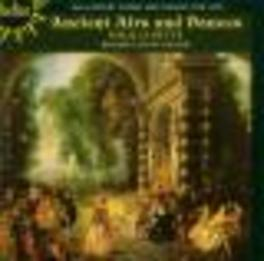 ANCIENT AIRS & DANCES LUTE & BAROQUE GUITAR FROM 16TH CENTURY/VARIOUS WORKS Audio CD, PAUL O'DETTE, CD
