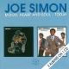 MOOD, HEART & SOUL/TODAY 2 ALBUMS ON 1 CD!!! Audio CD, JOE SIMON, CD
