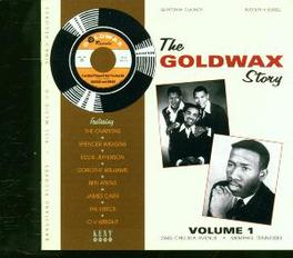 GOLDWAX STORY VOL.1 FEAT. O.V. WRIGHT, JAMES CARR, TIMMY THOMAS Audio CD, V/A, CD