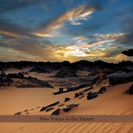 TWO VOICES IN THE DESERT Audio CD, ROBINSON, PERRY & BURTON, CD