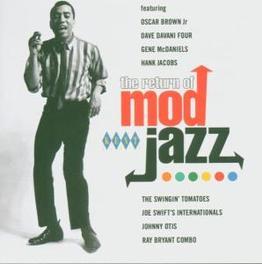 RETURN OF MOD JAZ W/AFRO BLUES QUINTET/JOHNNY OTIS/OSCAR BROWN JR. Audio CD, V/A, CD