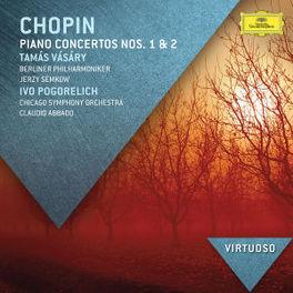 PIANO CONCERTOS NO.1 & 2 BERLINER PHILHARMONIKER/CHICAGO S.O. F. CHOPIN, CD