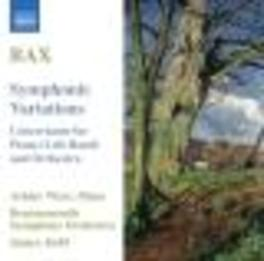 SYMPHONIC VARIATIONS CONCERTANTE FOR PIANO-LEFT HAND & ORCHESTRA Audio CD, A. BAX, CD