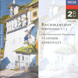 SYMPH. 1 2 & 3 KON.CONCERTGEB.ORCH./ASHKENAZY Audio CD, S. RACHMANINOV, CD