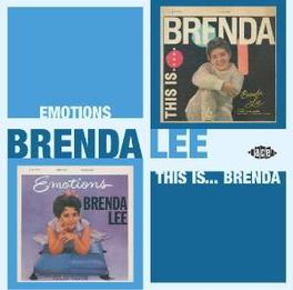 THIS IS BRENDA/EMOTIONS 2 ALBUMS ON 1 CD BY LITTLE MISS DYNAMITE Audio CD, BRENDA LEE, CD