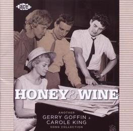 HONEY & WINE *ANOTHER GERRY GOFFIN & CAROLE KING SONG COLLECTION* Audio CD, V/A, CD
