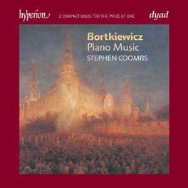 PIANO MUSIC STEPHEN COOMBS Audio CD, BORTKIEWICZ, CD