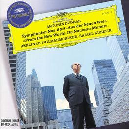 SYMPHONY NO.8 & 9 -BERLINER PHILHARMONIC/RAFAEL KUBELIK Audio CD, A. DVORAK, CD