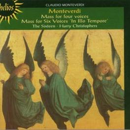 MASSES AND MOTETS THE SIXTEEN Audio CD, C. MONTEVERDI, CD