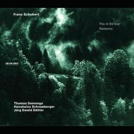 TRIO IN ES-DUR D929 & ...NOTTURNO D897/W/JORG EWALD DAHLER, THOMAS DEMENGA Audio CD, F. SCHUBERT, CD