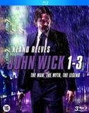 John Wick 1-3, (Blu-Ray)