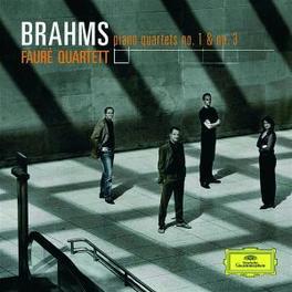 PIANO QUARTETS OP.25 & 60 FAURE QUARTET Audio CD, J. BRAHMS, CD