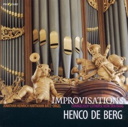 IMPROVISATIONS HENCO DE BERG, CD