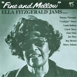 FINE AND MELLOW W/TOMMY FLANAGAN,CLARK TERRY,ZOOT SIMS,RAY BROWN,... Audio CD, ELLA FITZGERALD, CD