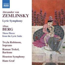 LYRIC SYMPHONY NO.3/LYRIC HOUSTON S.O./GRAF Audio CD, ZEMLINSKY/BERG, CD