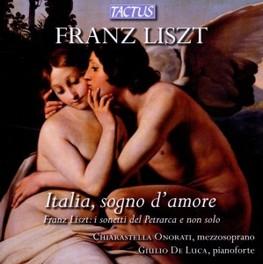 ITALIA, SOGNO D'AMORE F. LISZT, CD